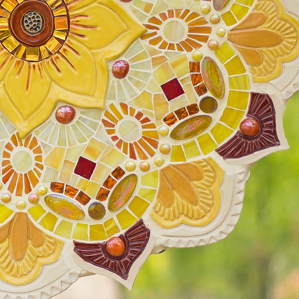 Detail of Sculptural Flower